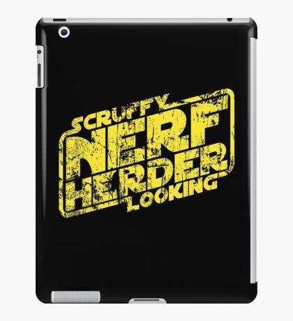 Scruffy Looking Nerf Herder iPad Case/Skin