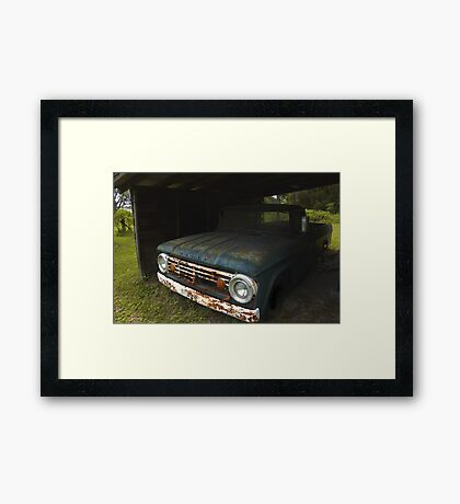 Forgotten Friend Framed Print
