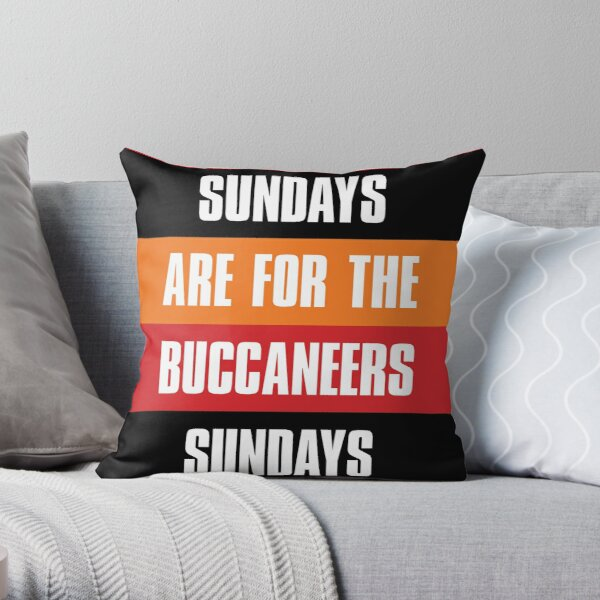 Tampa Bay Buccaneers Pillows Cushions Redbubble