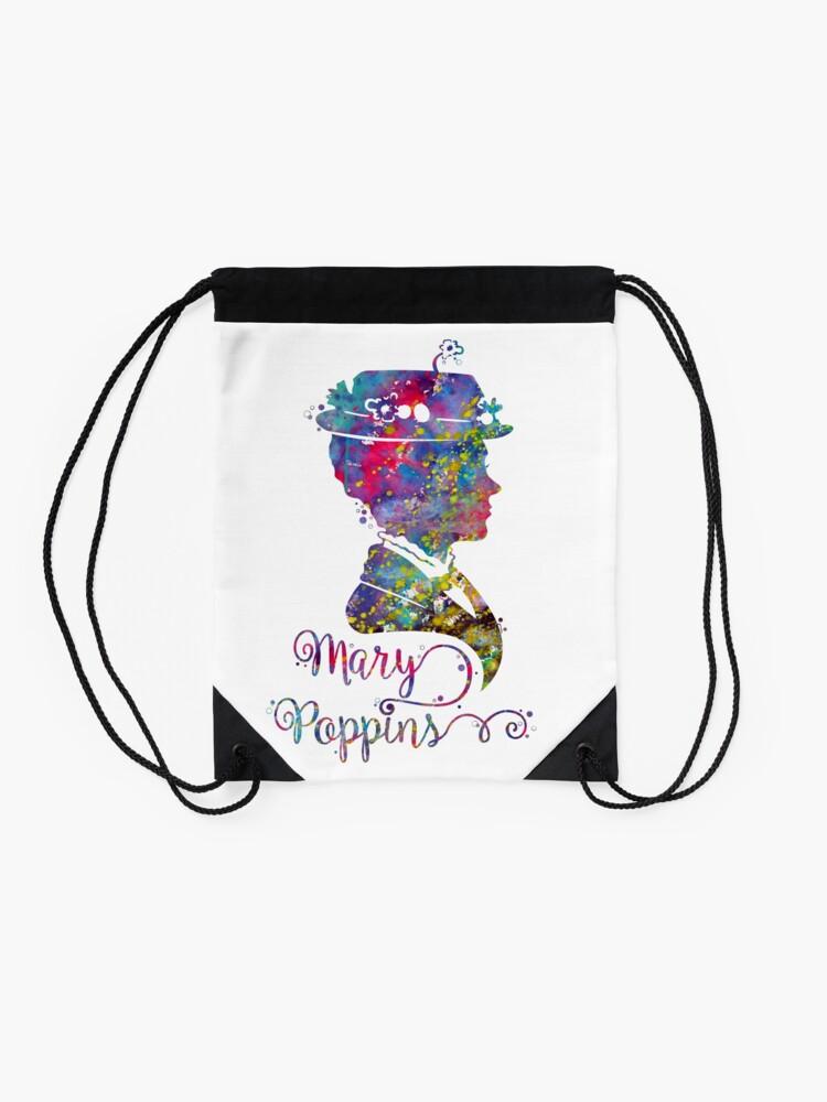 Alternate view of Mary Poppins Drawstring Bag