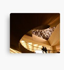 Stairway - Le Louvre Canvas Print