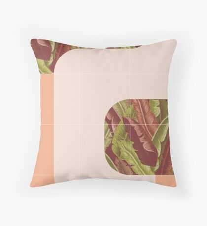 Mid-Century Tropical Mood #redbubble #tropical Floor Pillow