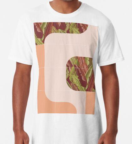 Mid-Century Tropical Mood #redbubble #tropical Long T-Shirt