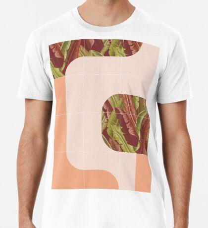 Mid-Century Tropical Mood #redbubble #tropical Premium T-Shirt