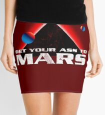 Get Your Ass to Mars Mini Skirt