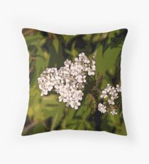 Little Flowers on Show Throw Pillow