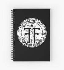 Fringe Division Spiral Notebook