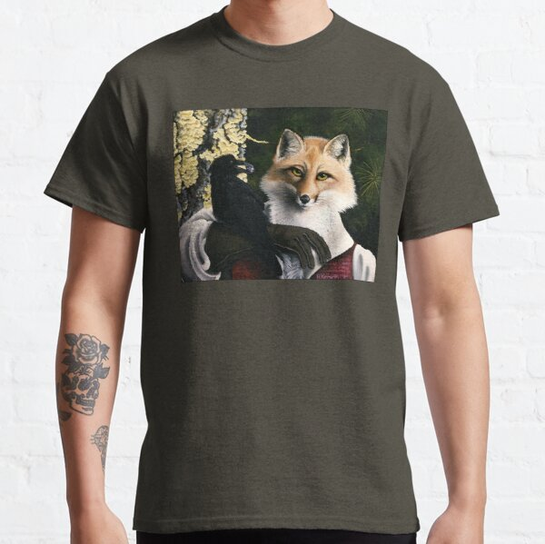 The Fox and the Cheese - Aesop's Fable Classic T-Shirt