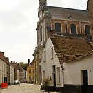 Beguinage Church - Lier - Belgium by Gilberte