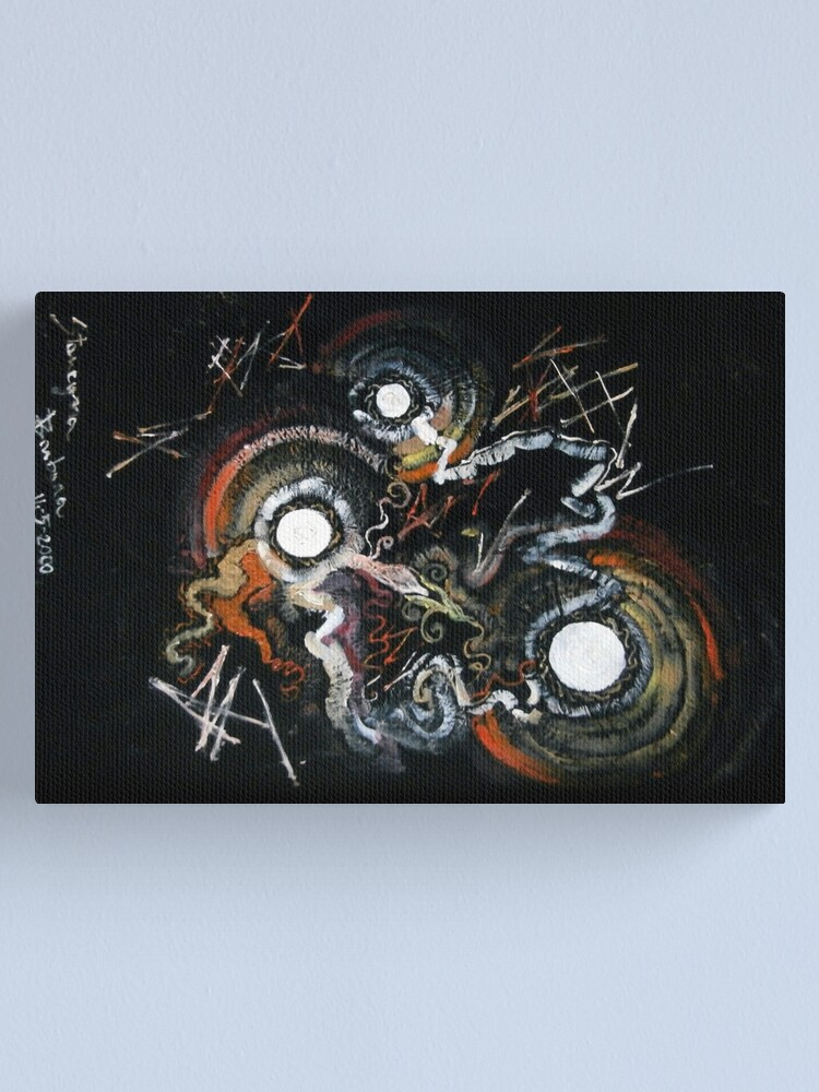 Alternate view of dawning abstract Canvas Print