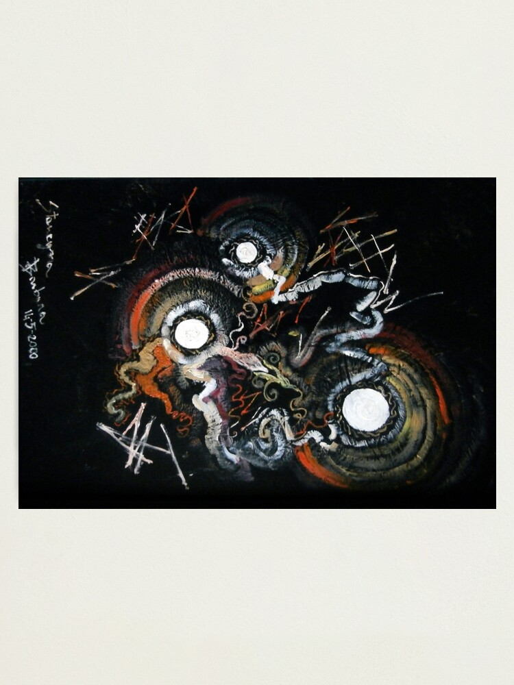 Alternate view of dawning abstract Photographic Print