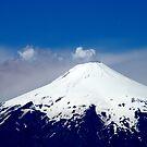 Volcano. Chile. by Daidalos