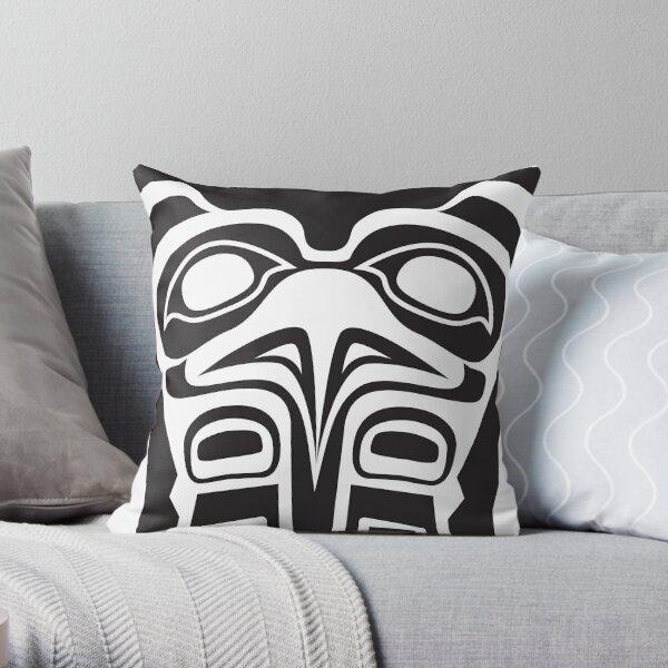 Eagle Copper Throw Pillow
