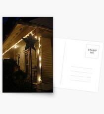 Nights in Bay St. Louis - Mockingbird Cafe, Bay St. Louis, Mississippi Postcards