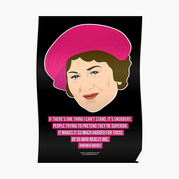 Hyacinth Bucket poster Poster