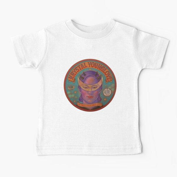Moon Banner - Slate Background Baby T-Shirt
