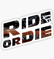 Fast And Furious - Ride Or Die Sticker