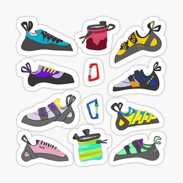 Calcomanías de zapatos de escalada Pegatina