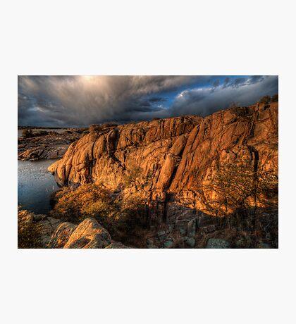 Up on the Big Rocks Photographic Print