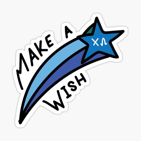 Make a Wish - Chi Omega Sticker