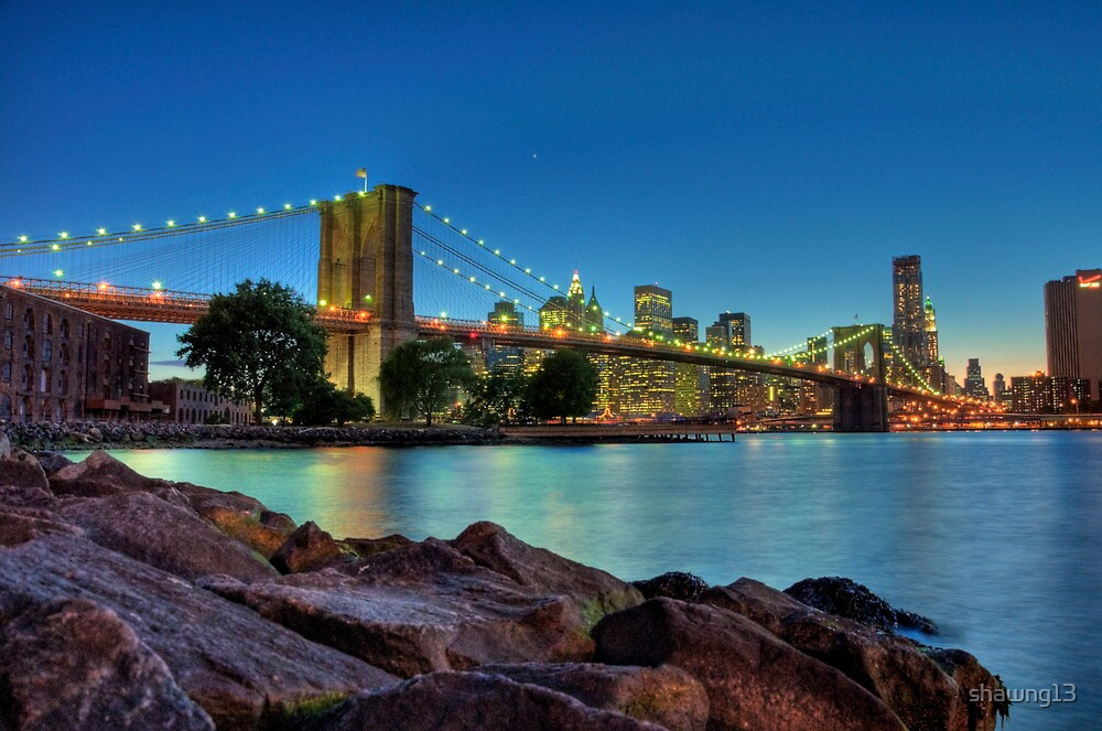 Brooklyn Bridge by shawng13