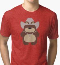 CowBear Tri-blend T-Shirt