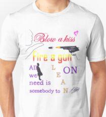 Major Lazer Lean On Lyric Quote  Unisex T-Shirt