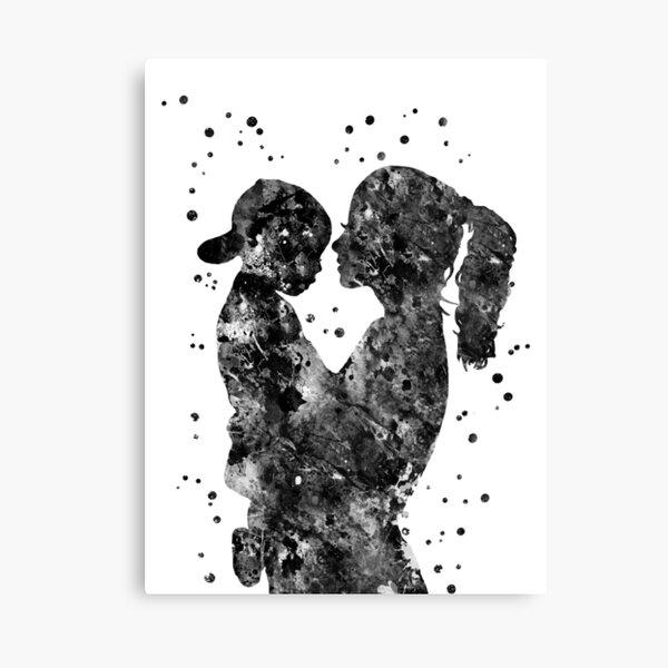 Mother Son Canvas Prints Redbubble