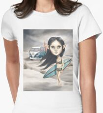 The Last Day of Summer Womens Fitted T-Shirt