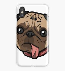 Misfit Pug iPhone Case/Skin