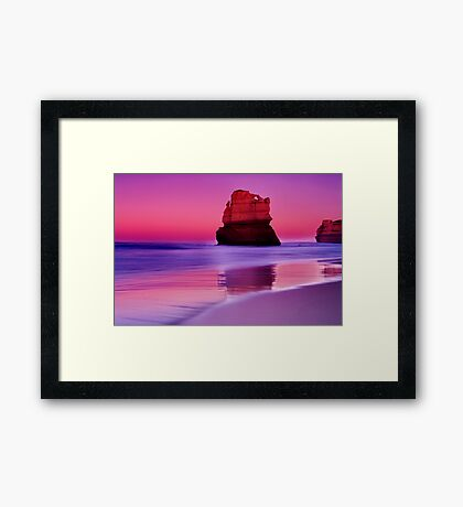 """Gibson's Dawn"" Framed Print"