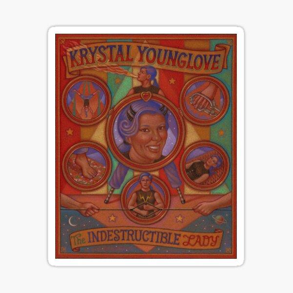 Krystal Younglove Sideshow Banner Sticker