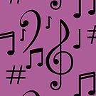 Musical Notes by THPStock