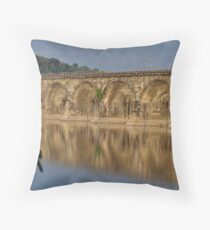 Reflection of History - I  Throw Pillow