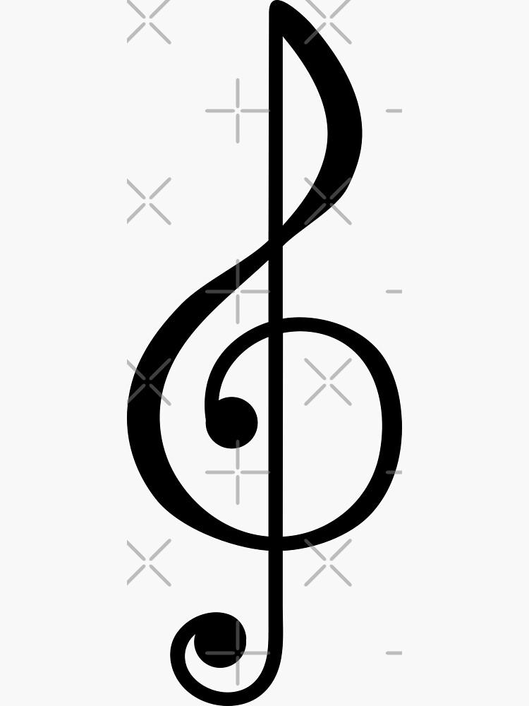 Treble Clef Symbol by THPStock