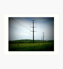 Country Lines Art Print