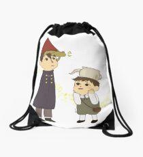 Frog Hat Drawstring Bag