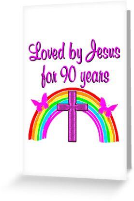 PRAYING 90TH BIRTHDAY By JLPOriginals