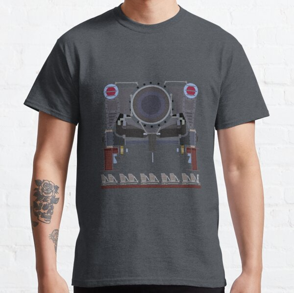 Steel Vengeance Rollercoaster Train Classic T-Shirt
