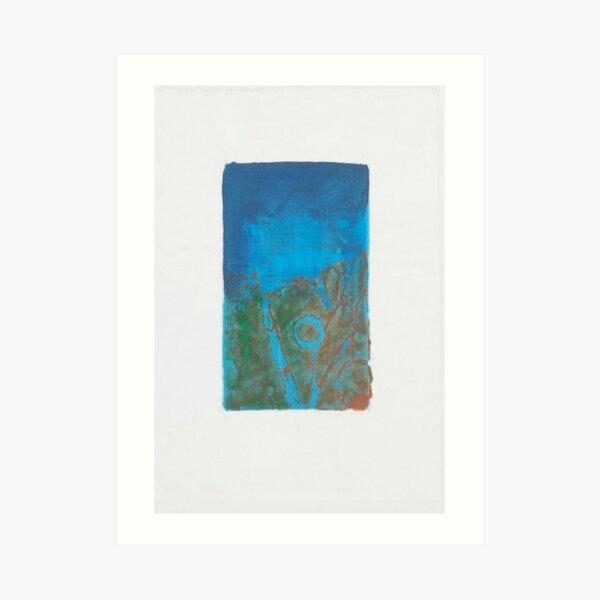 Lagoon Blue Art Print