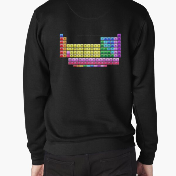 #Mendeleev's #Periodic #Table of the #Elements Pullover Sweatshirt