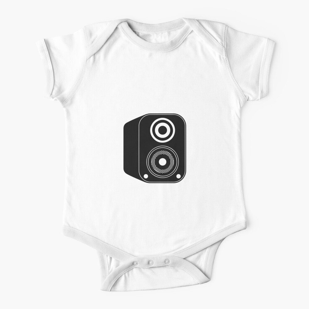 Speaker Icon Baby One-Piece