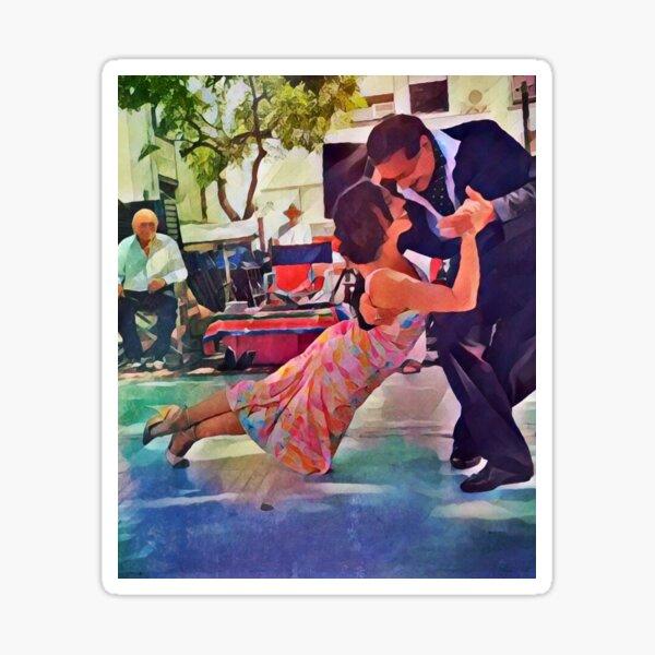 Tango in Buenos Aires, Milonga del Indio 2 Sticker