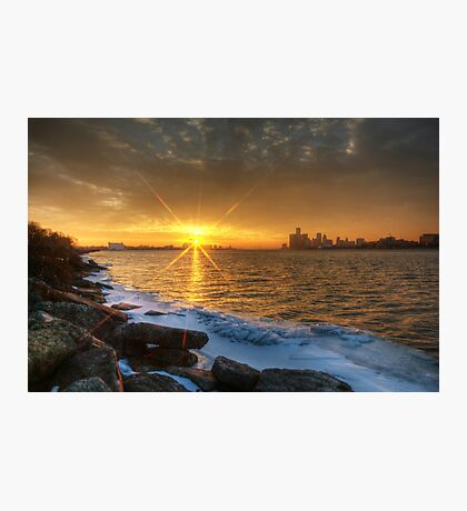 Belle Isle Sunset Photographic Print