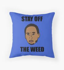 """Stephen A. Smith """"Stay Off The Weed"""" Floor Pillow"""