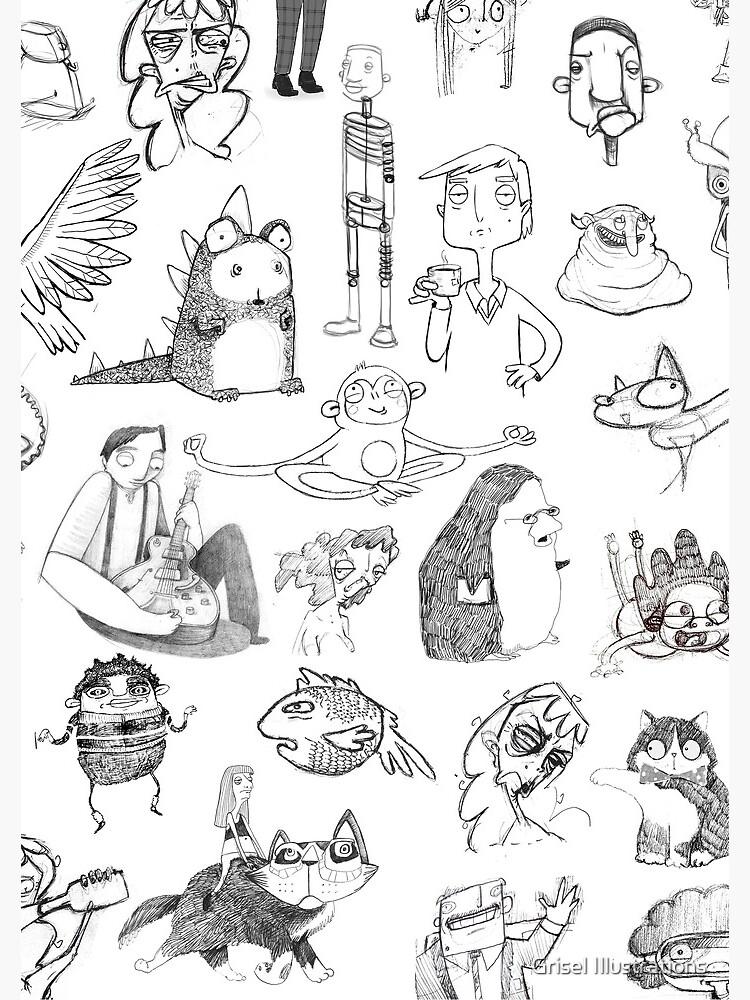 Characters by GriselMiranda