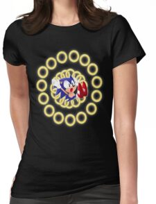 Classic Sonic - Ring loss  Womens Fitted T-Shirt