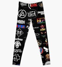 Rock Band Logo Leggings