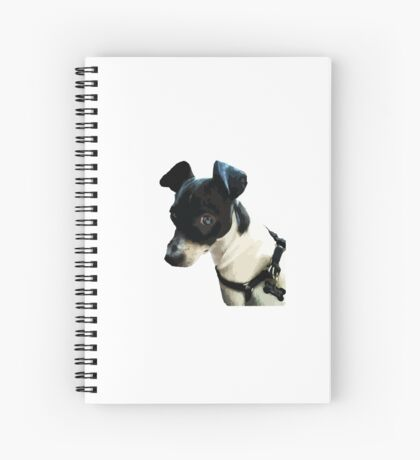 Carl the Rat Terrier Spiral Notebook