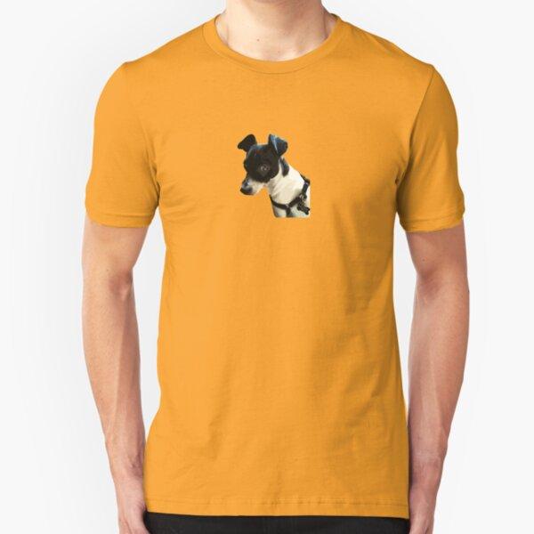 Carl the Rat Terrier Slim Fit T-Shirt